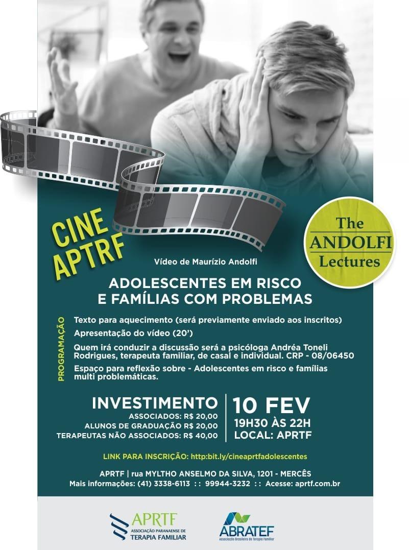 Cine APRTF de Fevereiro