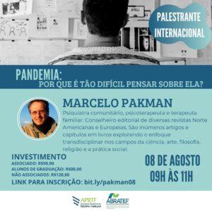 Palestra Internacional com Marcelo Pakman