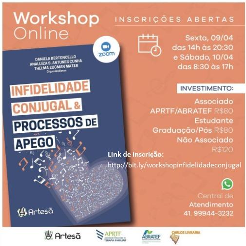Workshop Infidelidade Conjugal & Processos de Apego